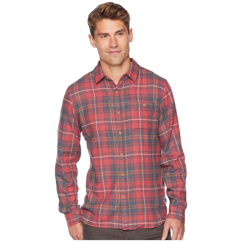 ハーレー Hurley メンズ トップス シャツ【Kurt Long Sleeve Flannel】Gym Red