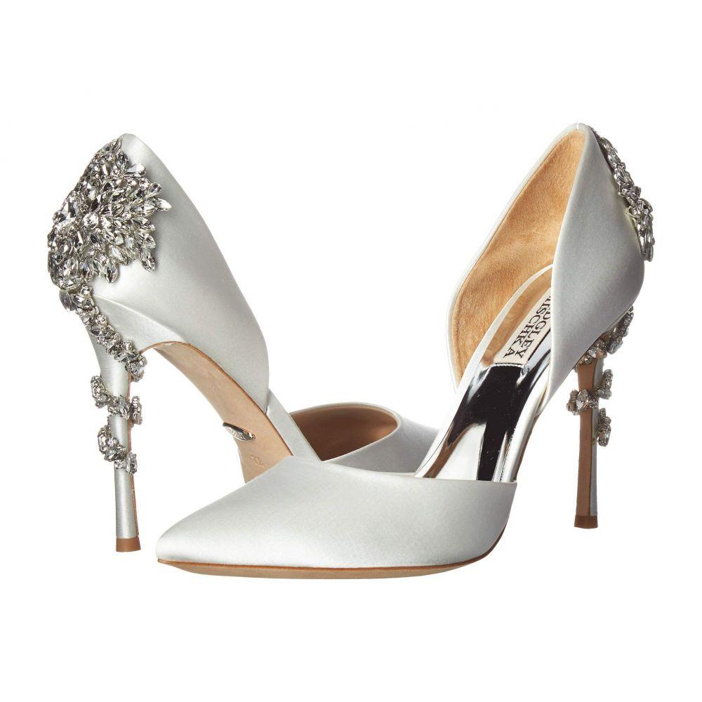 バッジェリー ミシュカ Badgley Mischka レディース シューズ・靴 パンプス【Vogue】Soft White Satin