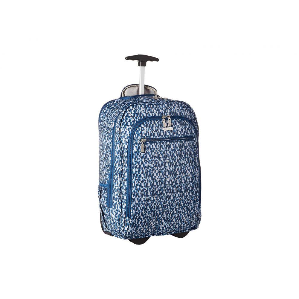 バッガリーニ Baggallini レディース バッグ パソコンバッグ【Legacy Travel Wheeled Laptop Backpack】Blue Prism