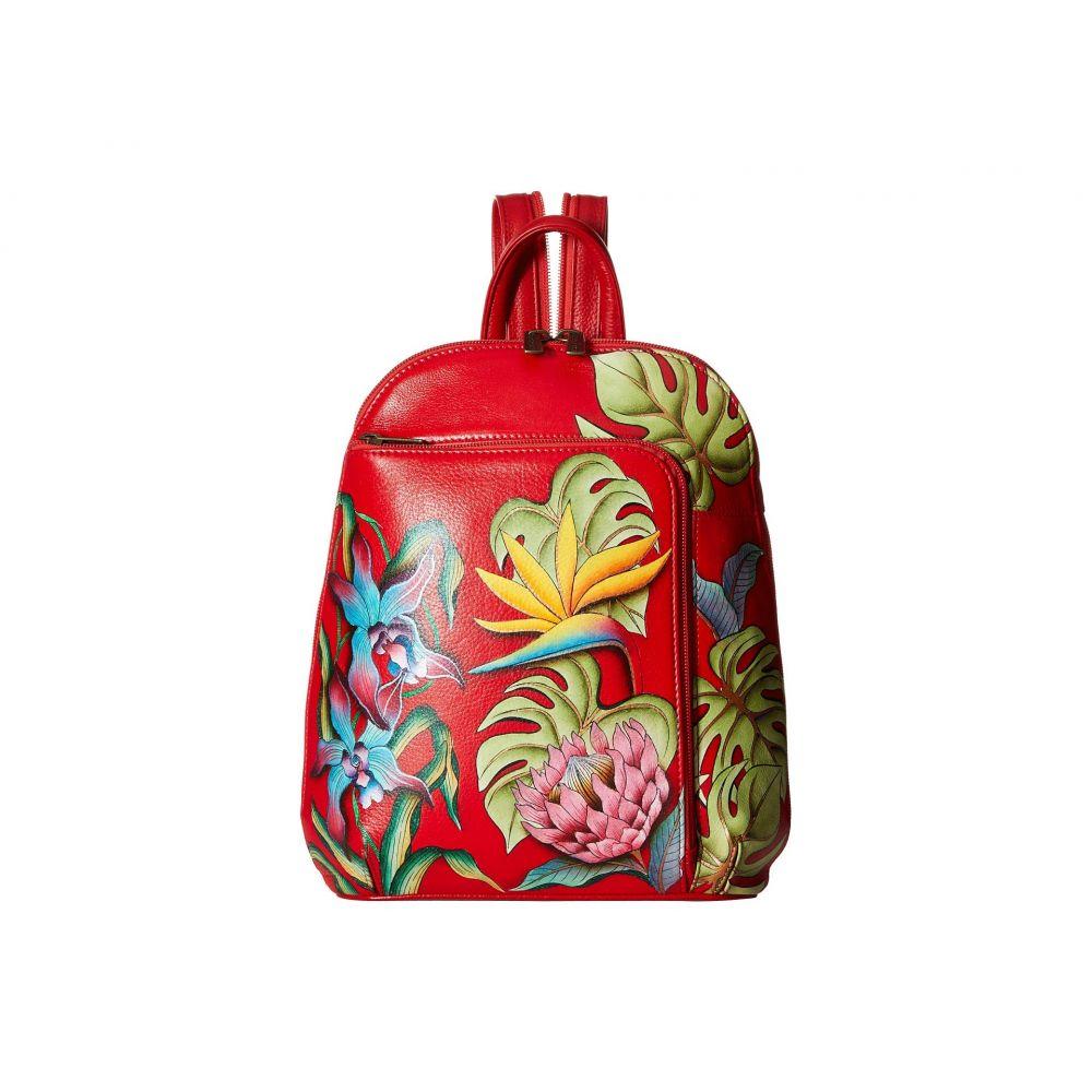 アヌシュカ Anuschka Handbags レディース バッグ バックパック・リュック【487 Sling Over Travel Backpack】Island Escape