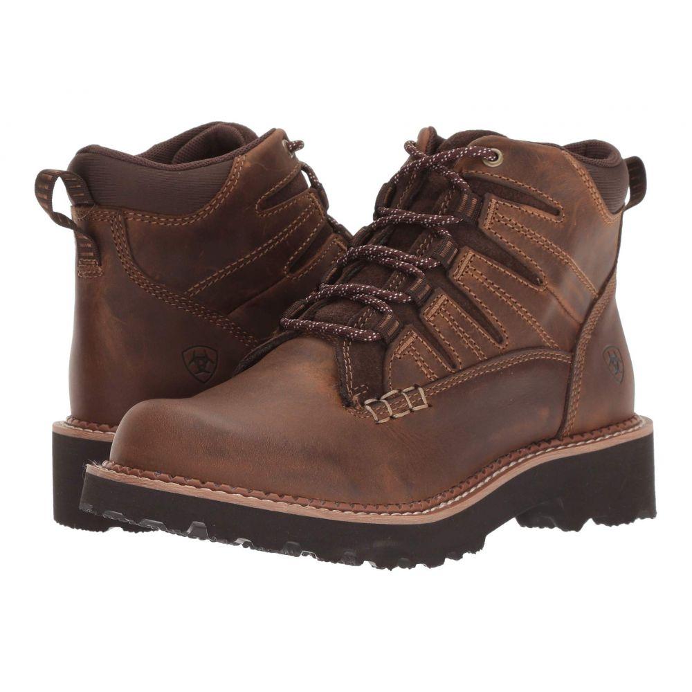 アリアト Ariat レディース ハイキング・登山 シューズ・靴【Canyon II】Distressed Brown