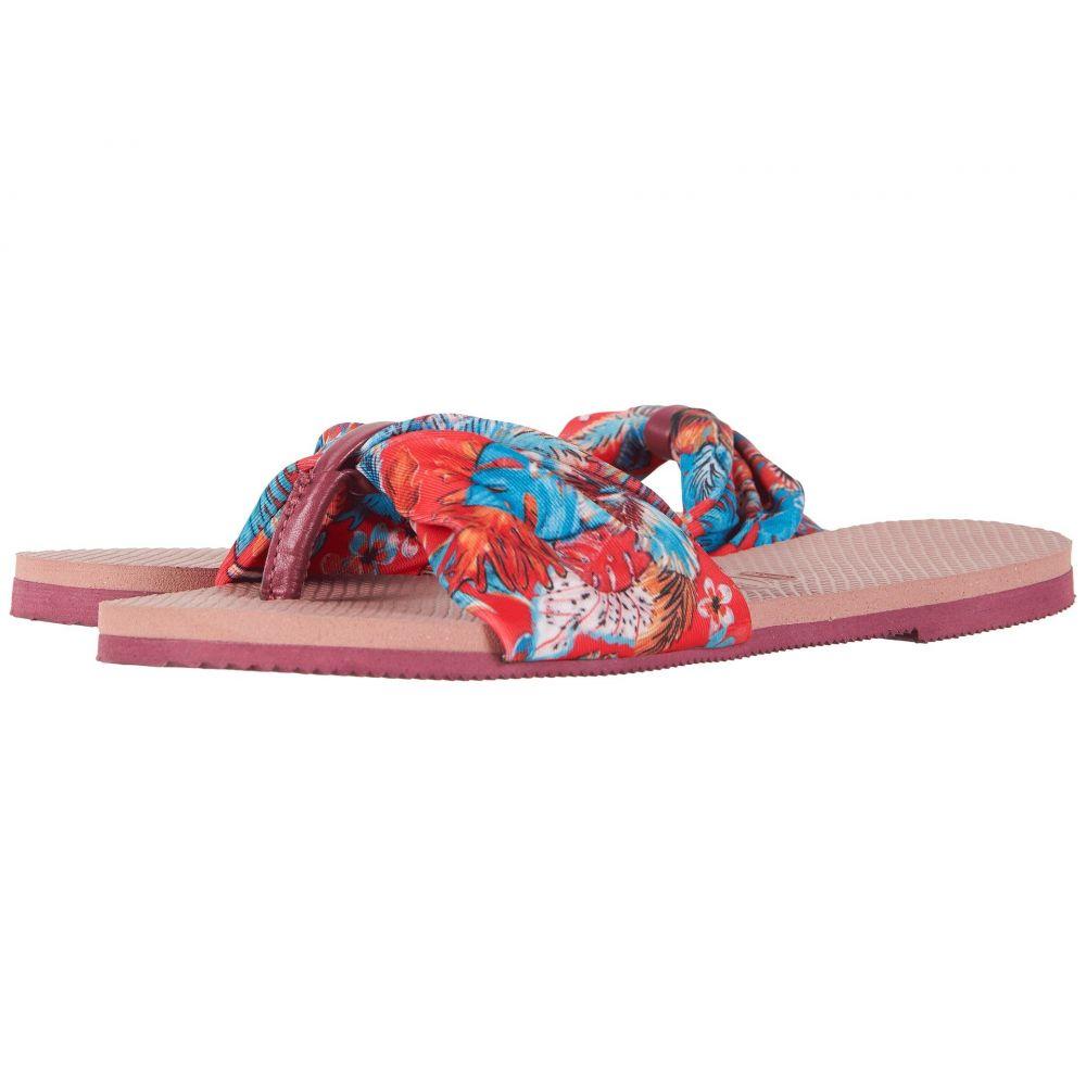 ハワイアナス Havaianas レディース シューズ・靴 ビーチサンダル【You Saint Tropez Sandals】Crocus Rose