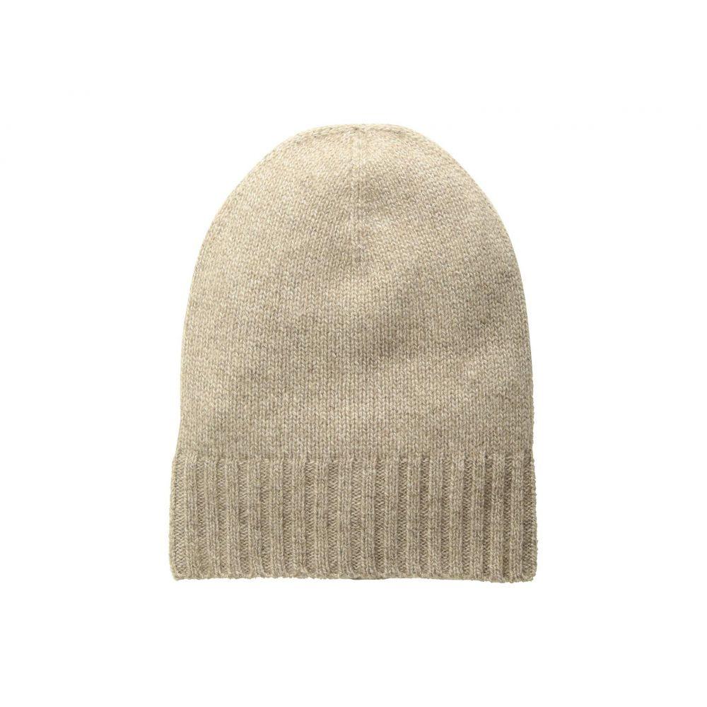 ハットアタック Hat Attack レディース 帽子 ニット【Cashmere Slouchy/Cuff Hat】Taupe