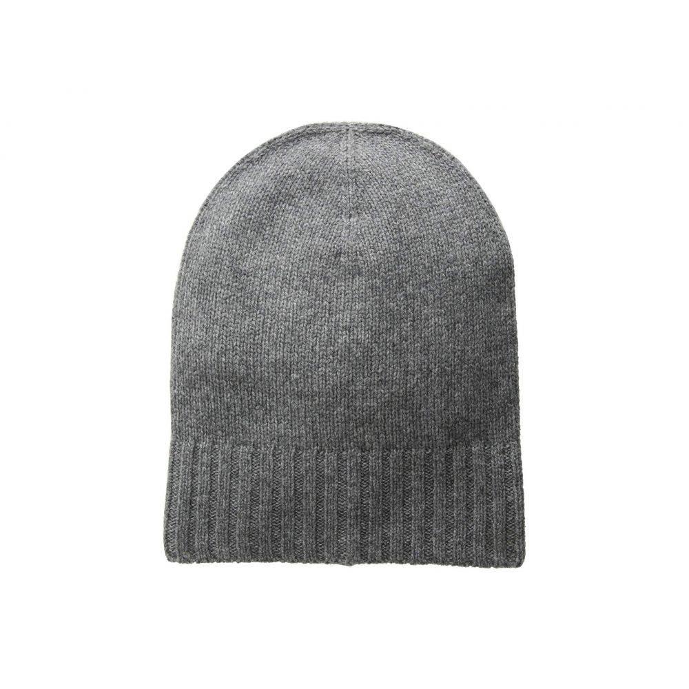ハットアタック Hat Attack レディース 帽子 ニット【Cashmere Slouchy/Cuff Hat】Charcoal