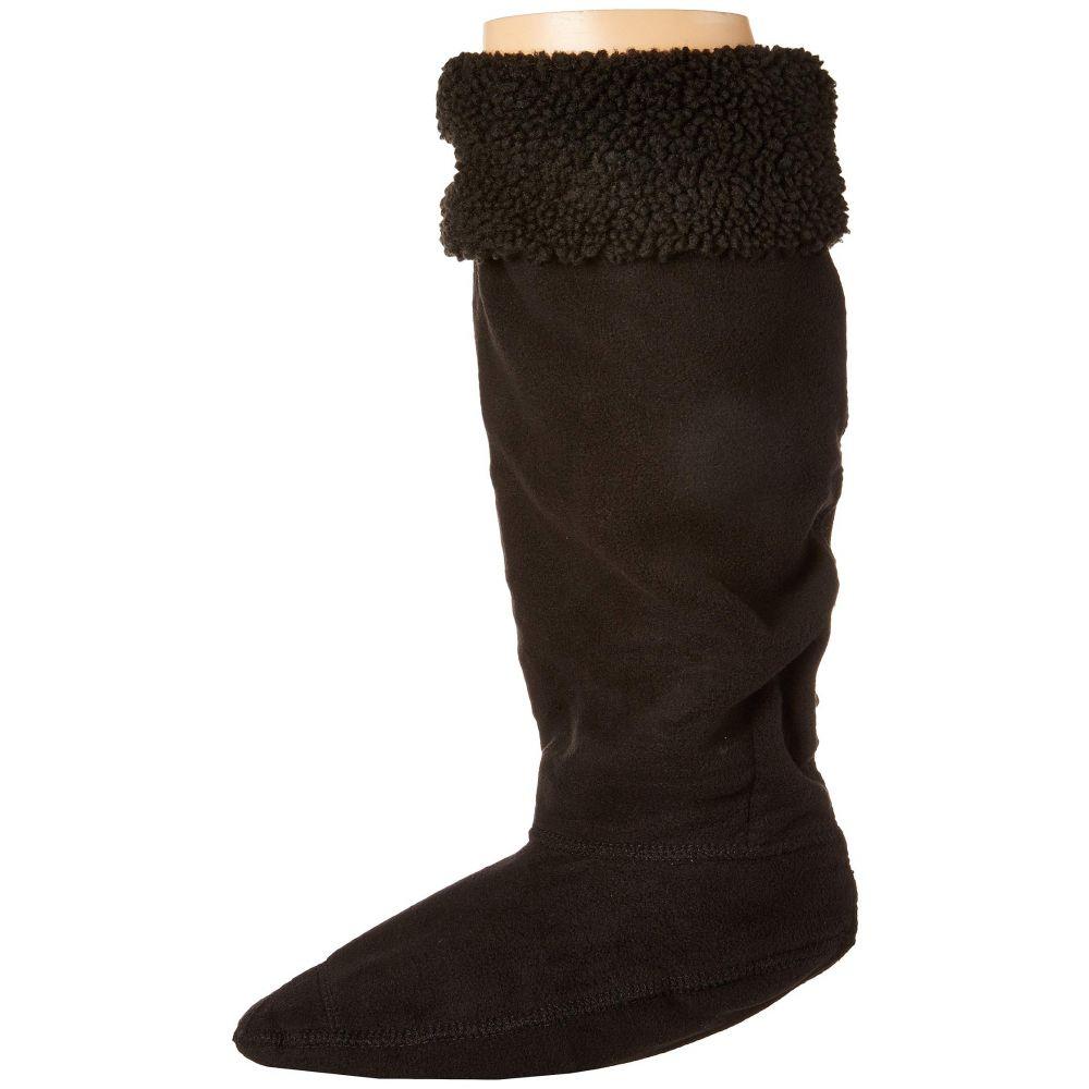ハンター Hunter レディース インナー・下着 ソックス【Original Tall Boot Sock Sheepy Cuff】Black