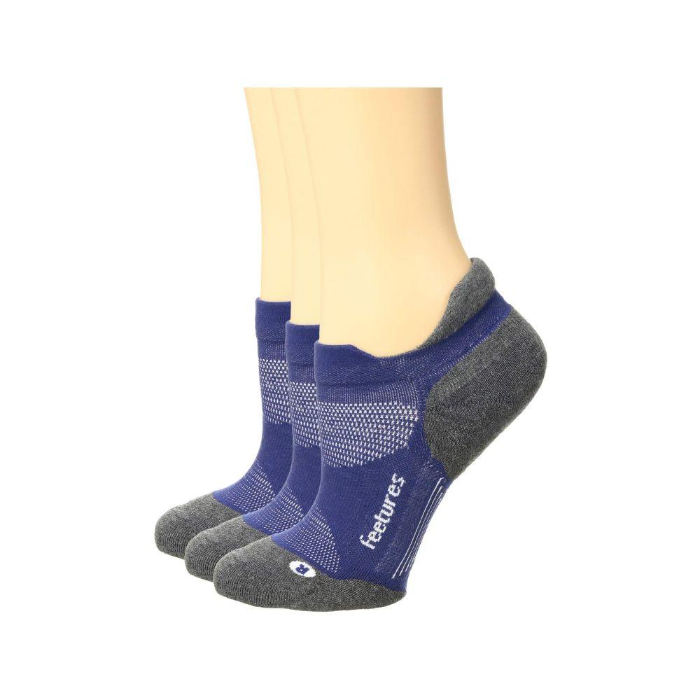 フィーチャーズ Feetures レディース インナー・下着 ソックス【Elite Max Cushion 3-Pair Pack】Sapphire