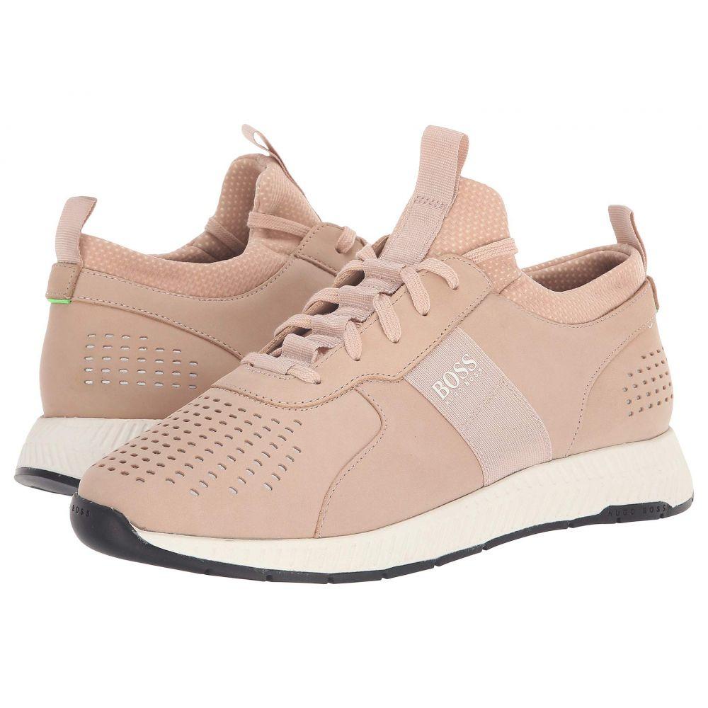 ヒューゴ ボス BOSS Hugo Boss メンズ ランニング・ウォーキング シューズ・靴【Titanium Running Sneaker by BOSS Green】Pastel Pink