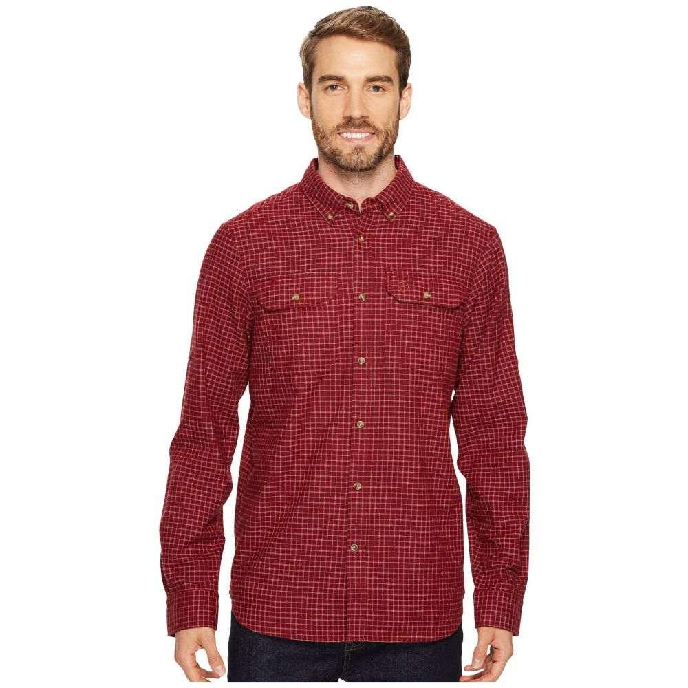 フェールラーベン Fjallraven メンズ トップス シャツ【Forest Flannel Shirt】Deep Red