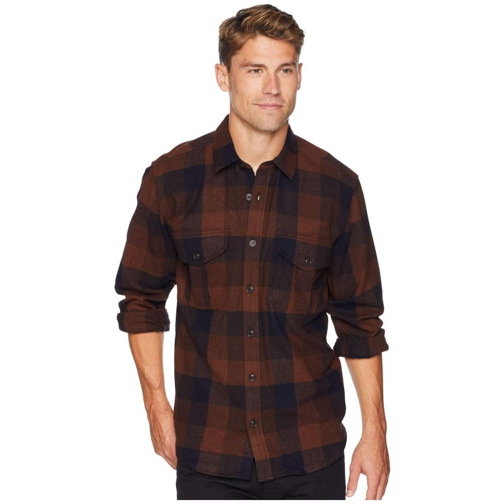 フィルソン Filson メンズ トップス シャツ【Northwest Wool Shirt】Brown/Rust/Navy