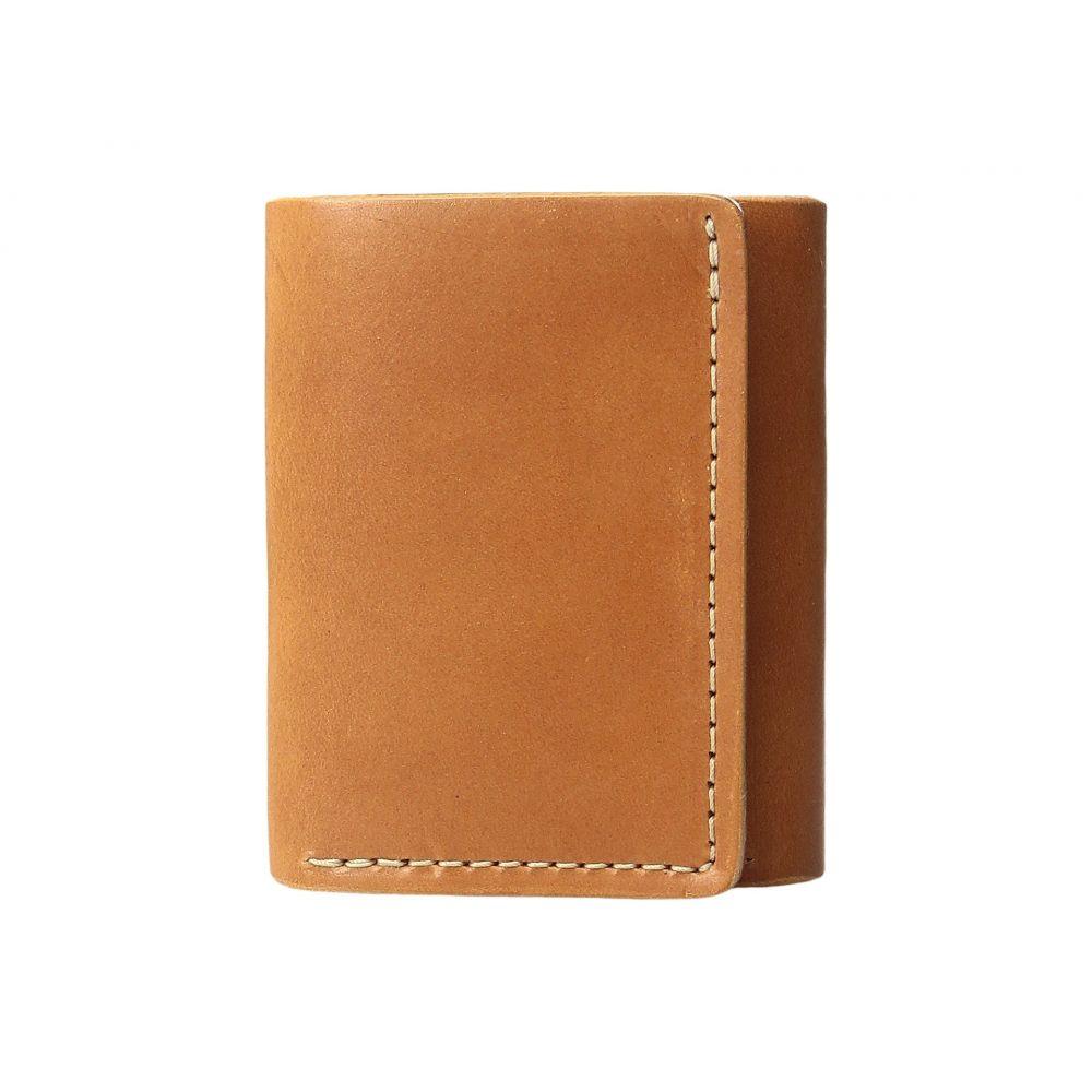 フィルソン Filson レディース 財布【Trifold Wallet】Tan Leather