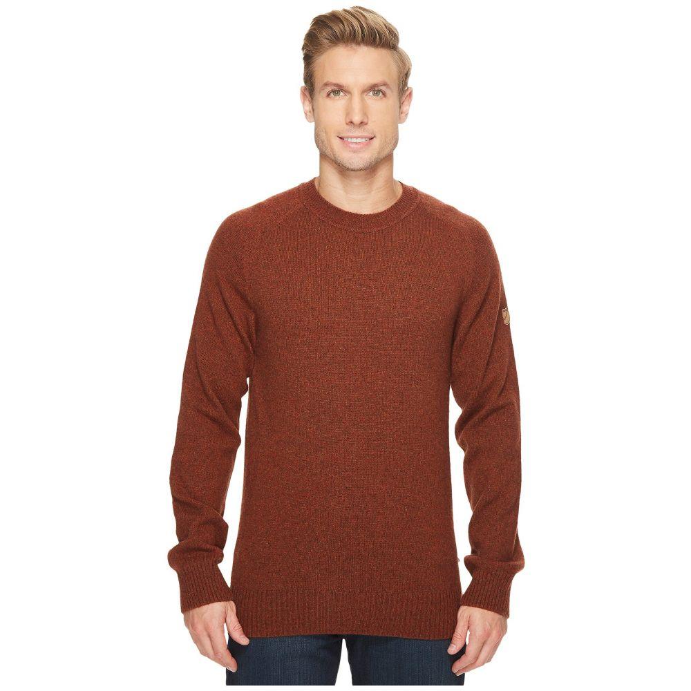 フェールラーベン Fjallraven メンズ トップス ニット・セーター【Ovik Re-Wool Sweater】Autumn Leaf