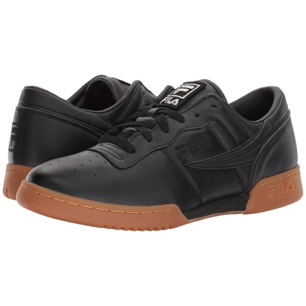 最適な価格 フィラ Fila メンズ フィットネス・トレーニング シューズ・靴【Original Fitness】Black/Black/Gum, セイダンチョウ 7312328e