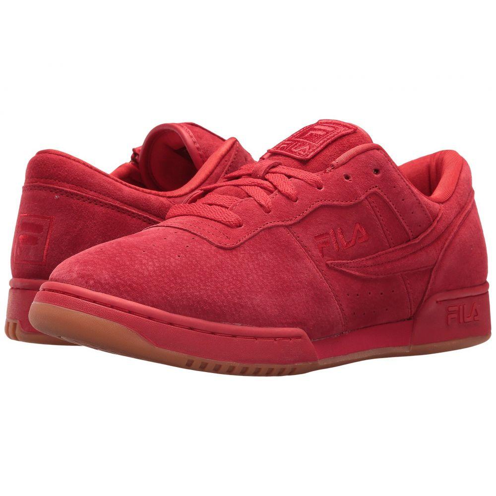 フィラ Fila メンズ フィットネス・トレーニング シューズ・靴【Original Fitness Zipper】Fila Red/Metallic Gold/Gum
