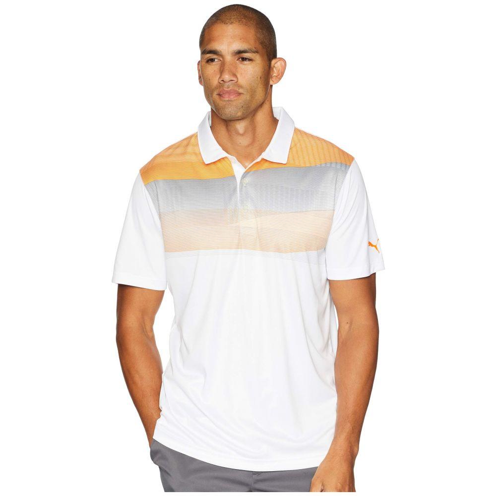 プーマ PUMA Golf メンズ トップス ポロシャツ【PWRCOOL Refraction Polo】Vibrant Orange