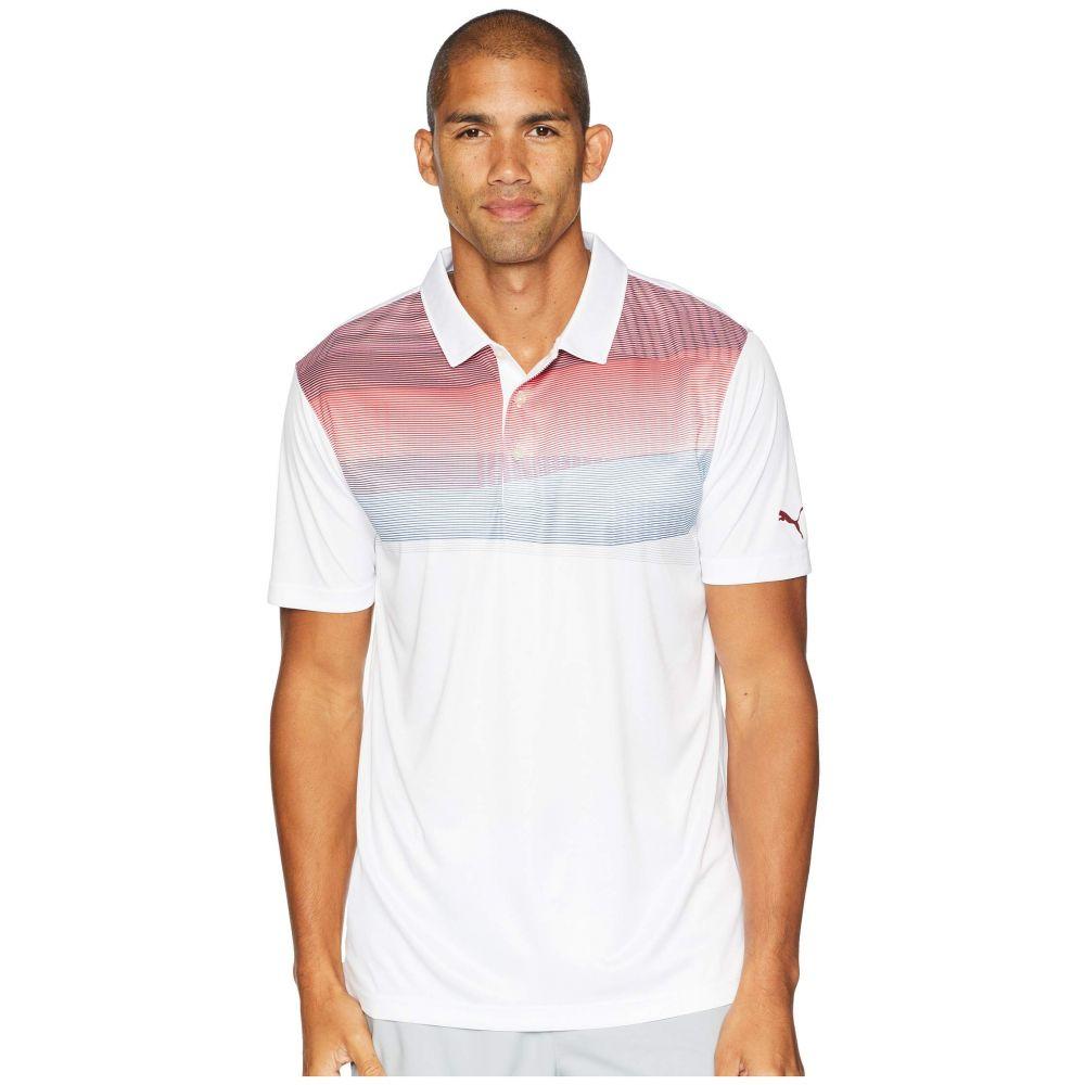 プーマ PUMA Golf メンズ トップス ポロシャツ【PWRCOOL Refraction Polo】Pomegranate