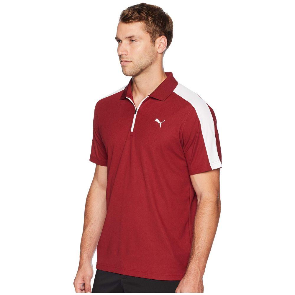 プーマ PUMA Golf メンズ ゴルフ トップス【T7 Golf Polo】Pomegranate