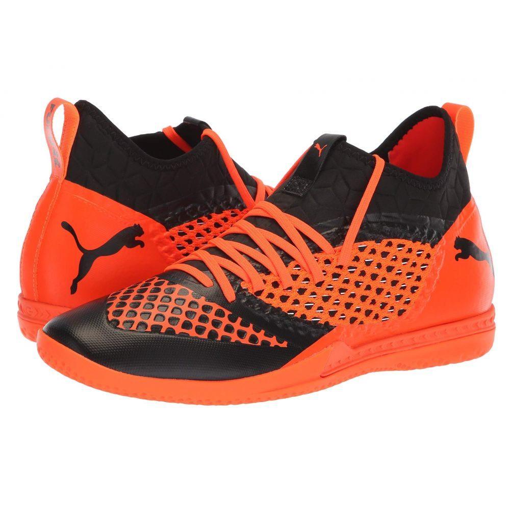 プーマ PUMA メンズ サッカー シューズ・靴【Future 2.3 Netfit IT】Puma Black/Shocking Orange