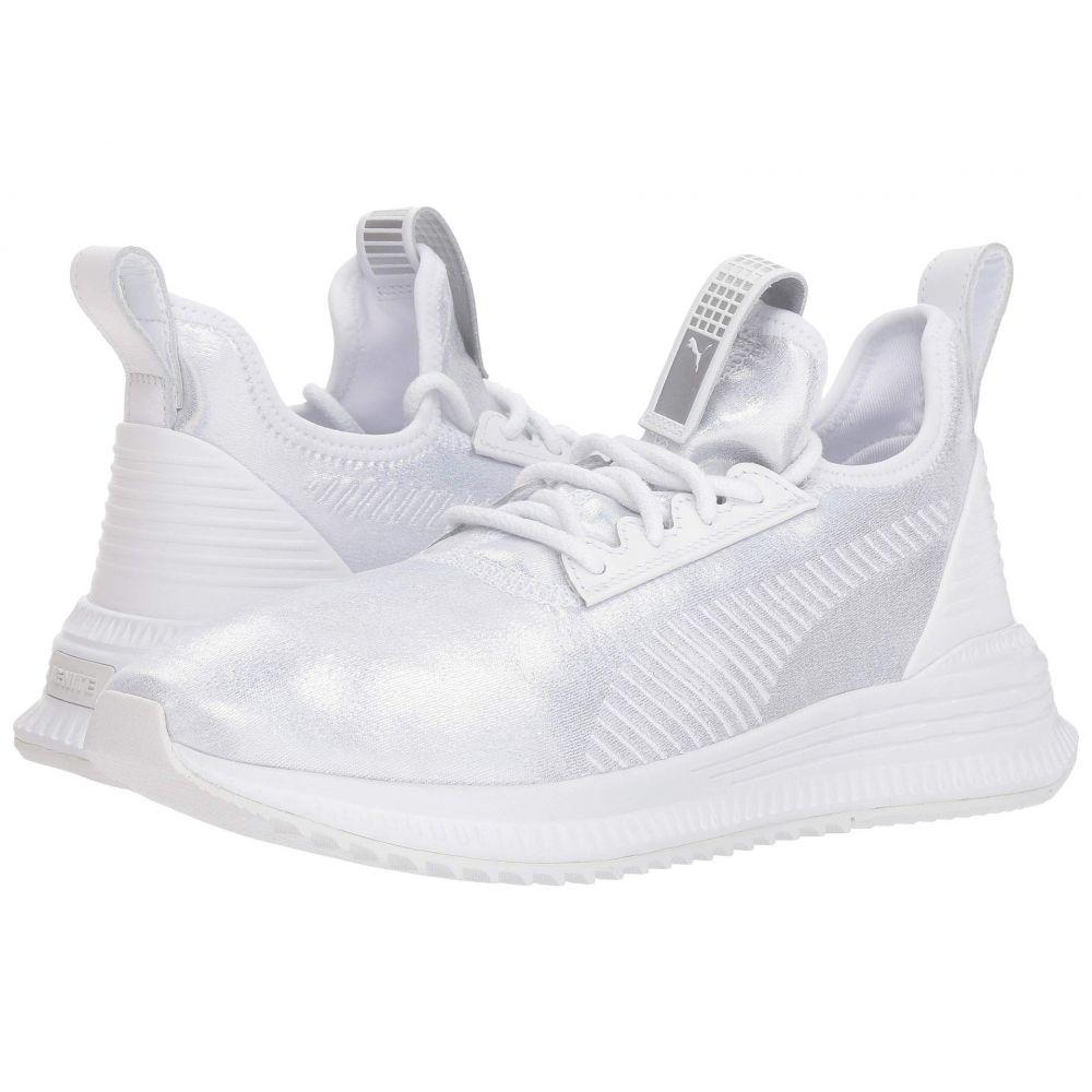 プーマ PUMA レディース ランニング・ウォーキング シューズ・靴【Avid Ice】Puma White/Puma White
