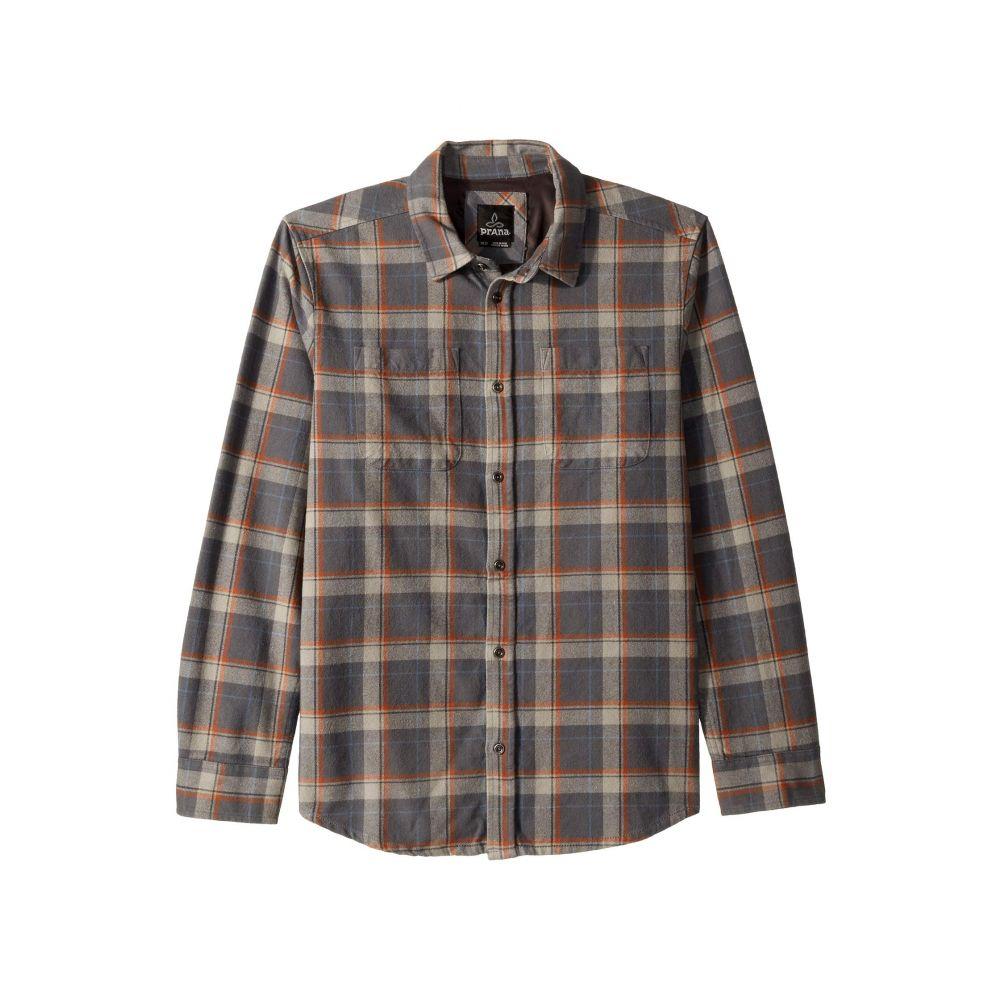 プラーナ Prana メンズ トップス シャツ【Brayden Long Sleeve Flannel Shirt】Coal