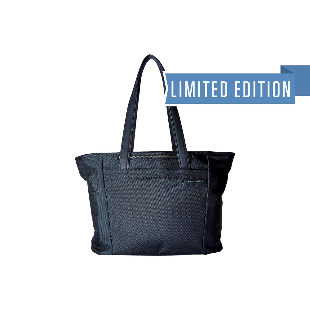 ブリッグスアンドライリー Briggs & Riley レディース バッグ トートバッグ【Baseline - Large Shopping Tote Bag】Navy Blue
