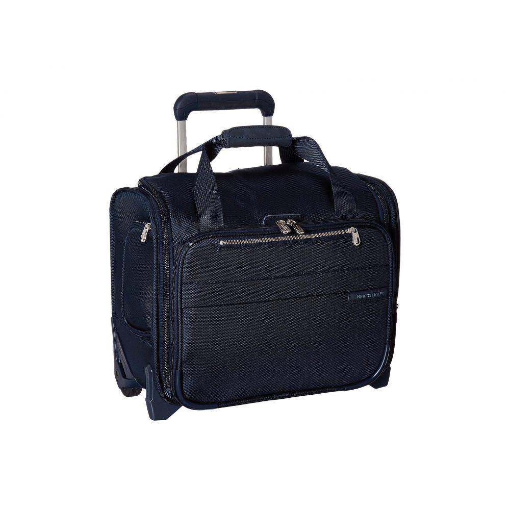 ブリッグスアンドライリー Briggs & Riley レディース バッグ スーツケース・キャリーバッグ【Baseline Rolling Cabin Bag】Navy Blue