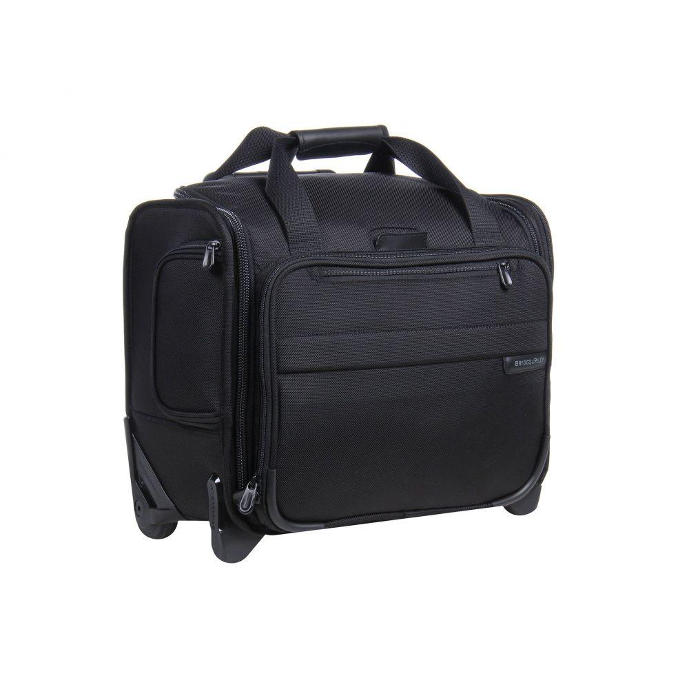 ブリッグスアンドライリー Briggs & Riley レディース バッグ スーツケース・キャリーバッグ【Baseline Rolling Cabin Bag】Black