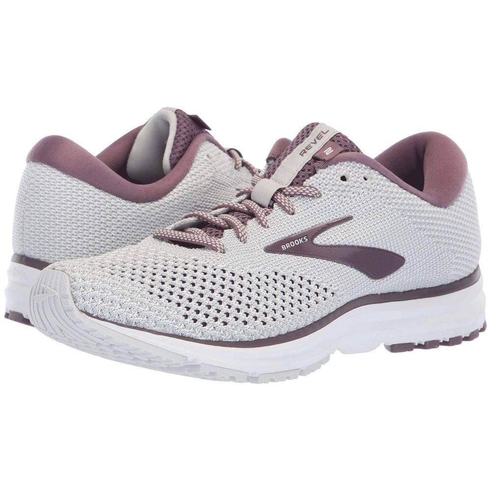 ブルックス Brooks レディース ランニング・ウォーキング シューズ・靴【Revel 2】Grey/White/Arctic Dusk