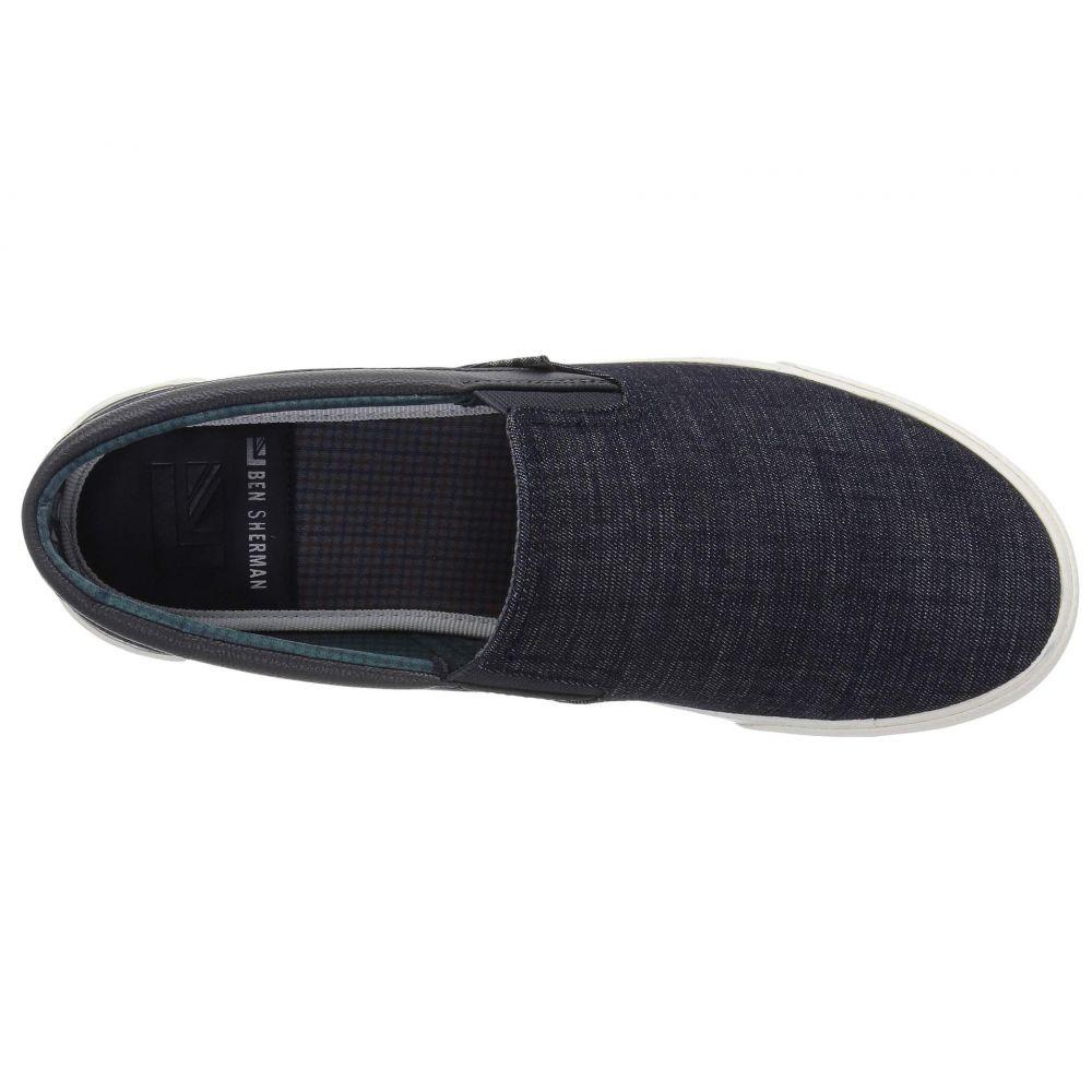 メンズ シューズ・靴 スペンサー 【La Salle】 スリッポン・フラット Black Waxy Leather デビッド