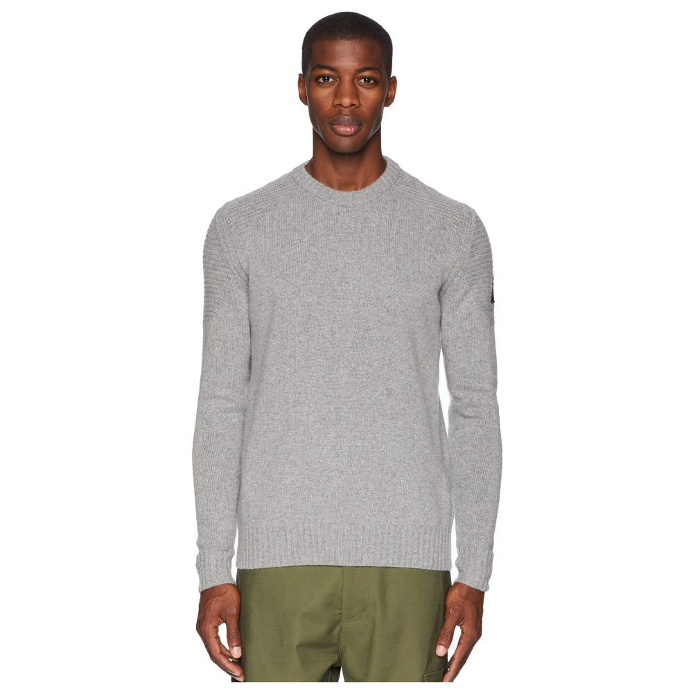 ベルスタッフ BELSTAFF メンズ トップス ニット・セーター【Southview Cashmere Blend Sweater】Mid Grey Melange
