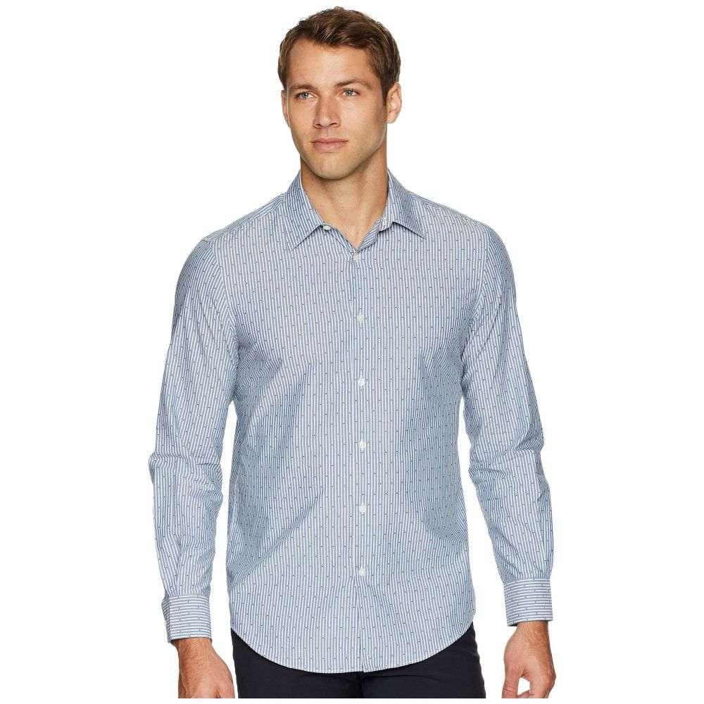 ペリー エリス Perry Ellis メンズ トップス シャツ【Print Dobby Shirt】Bright White