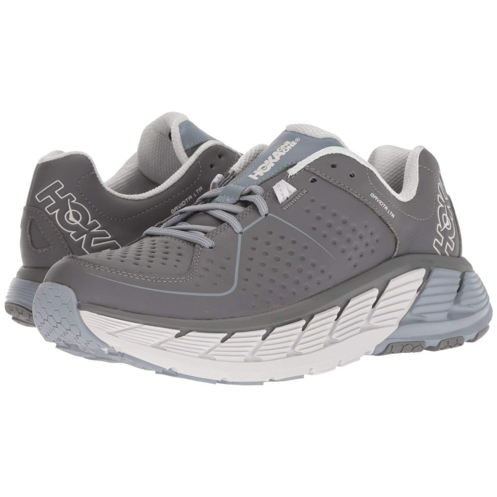 ホカ オネオネ Hoka One One メンズ ランニング・ウォーキング シューズ・靴【Gaviota Leather】Charcoal/Tradewinds
