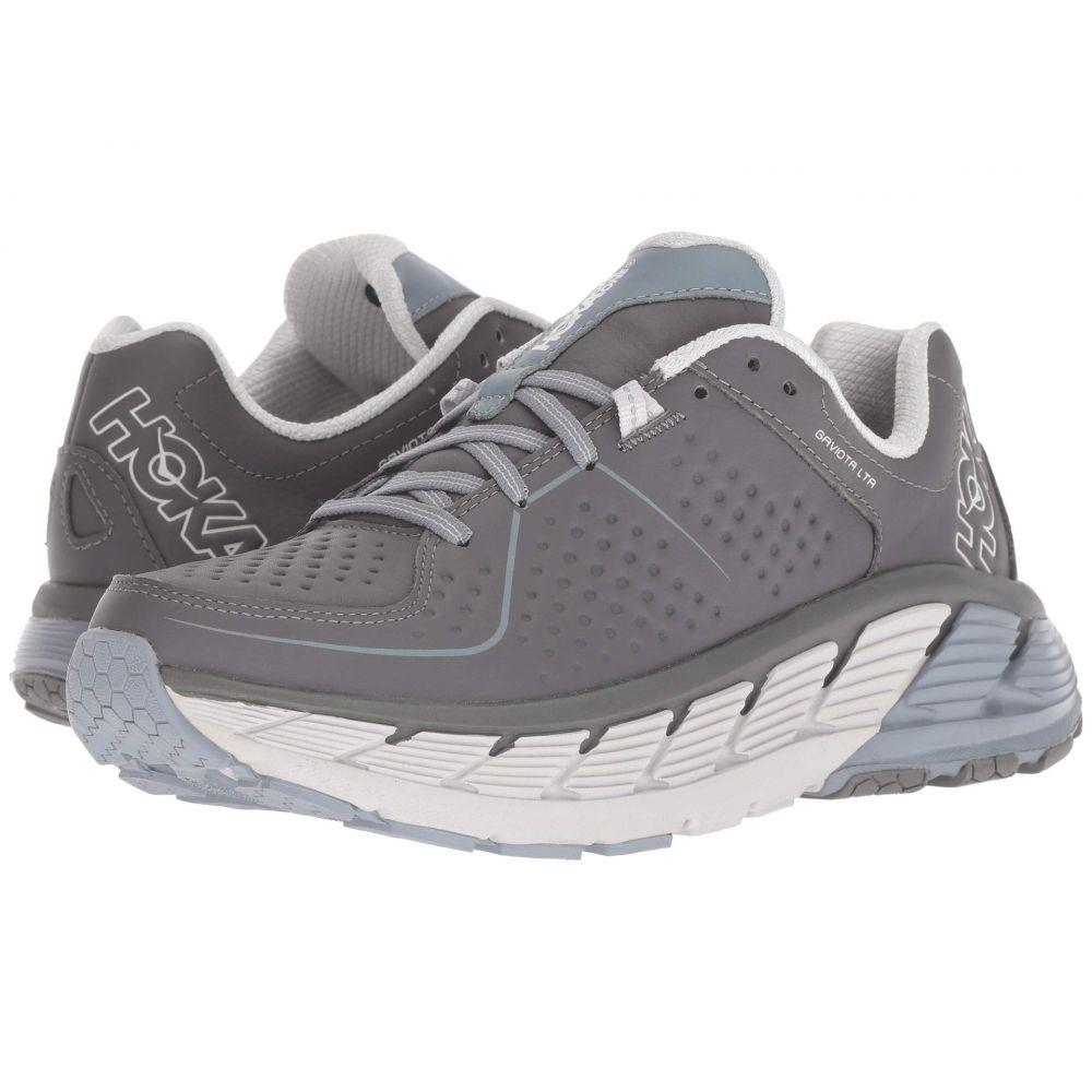 ホカ オネオネ Hoka One One レディース ランニング・ウォーキング シューズ・靴【Gaviota Leather】Charcoal/Tradewinds