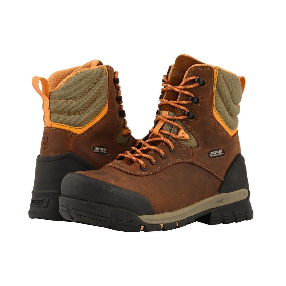 ボグス Bogs メンズ シューズ・靴 ブーツ【Bed Rock 8' Insulated Composite Toe】Brown Multi