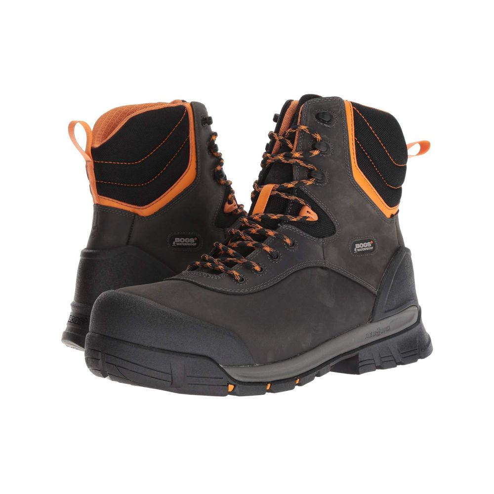 ボグス Bogs メンズ シューズ・靴 ブーツ【Bed Rock 8' Insulated Composite Toe】Black Multi