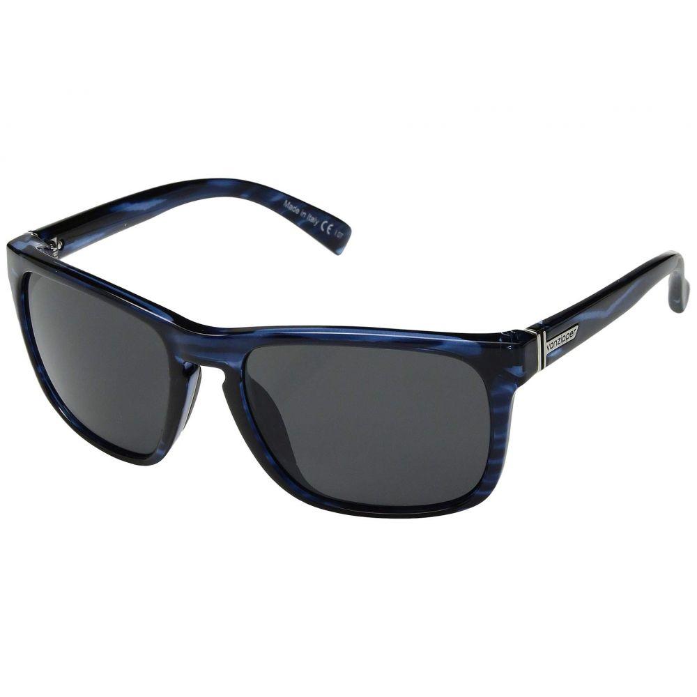 ボンジッパー VonZipper レディース レディース スポーツサングラス Blue/Grey【Lomax】Ocean Blue/Grey, 作業服安全靴のサンワークEXP:7a9c433d --- sunward.msk.ru