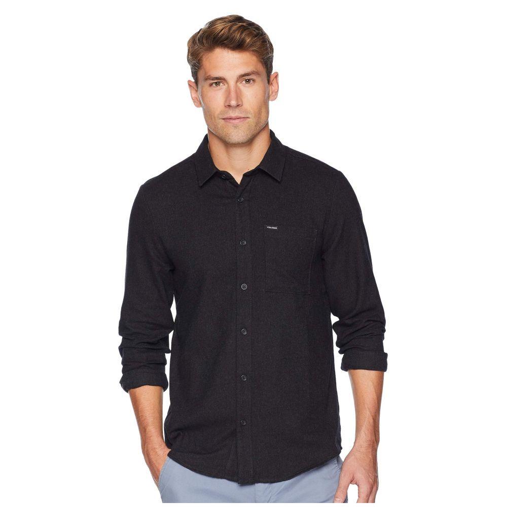 ボルコム Volcom メンズ トップス シャツ【Caden Solid Long Sleeve】Black