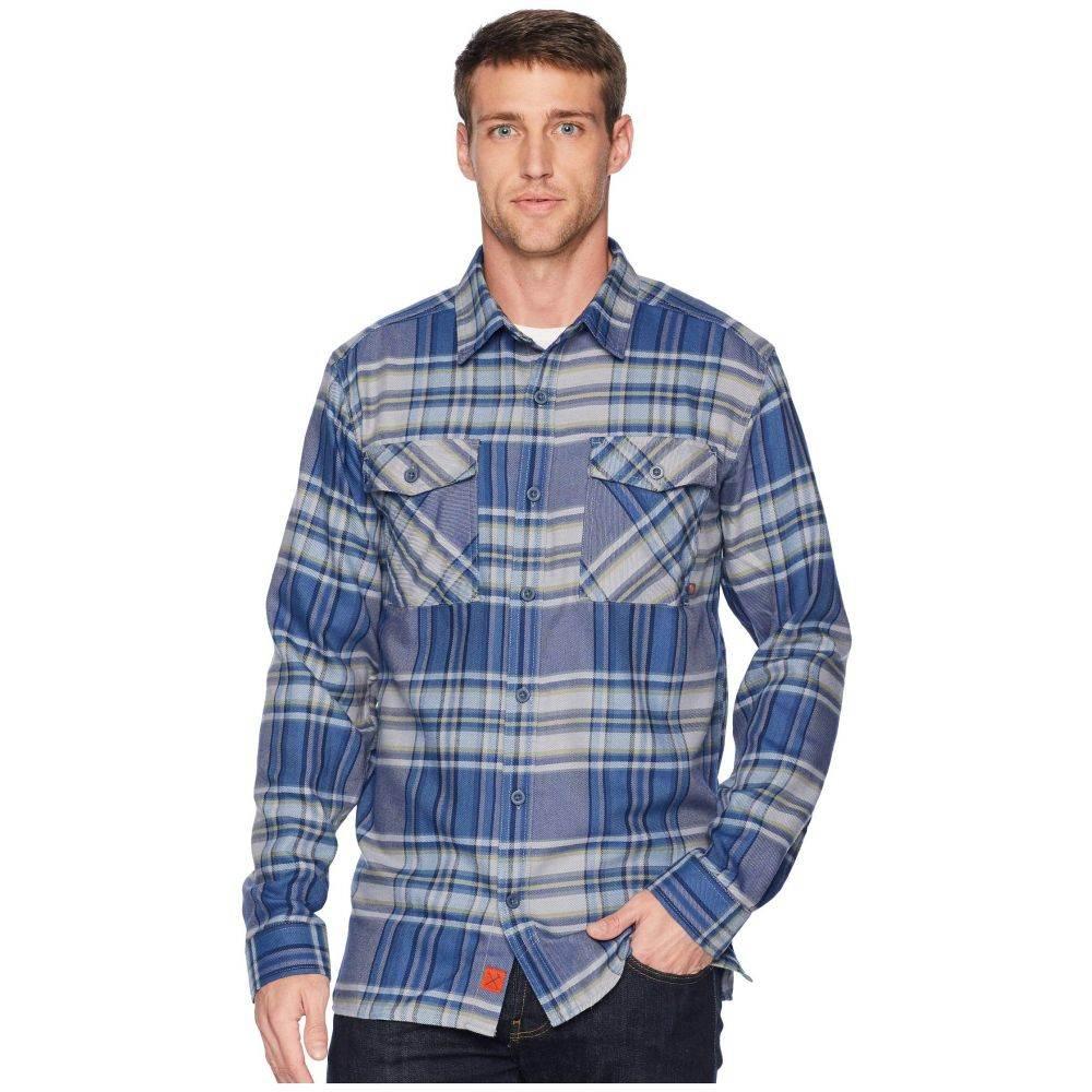 マウンテンハードウェア Mountain Hardwear メンズ トップス シャツ【Trekkin(TM) Flannel Long Sleeve Shirt】Machine Blue