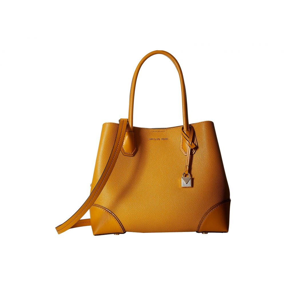 マイケル コース MICHAEL Michael Kors レディース バッグ トートバッグ【Mercer Gallery Medium Center Zip Tote】Marigold