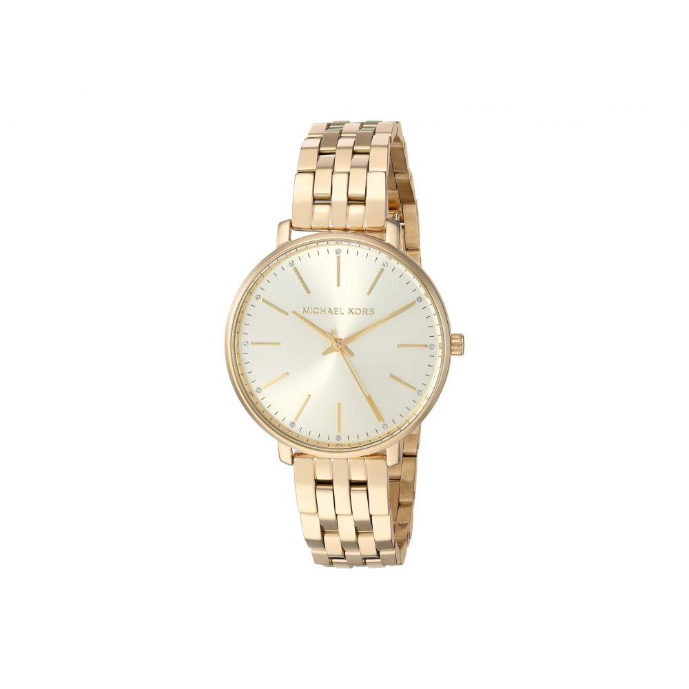マイケル コース Michael Kors レディース 腕時計【Pyper - MK3898】Gold