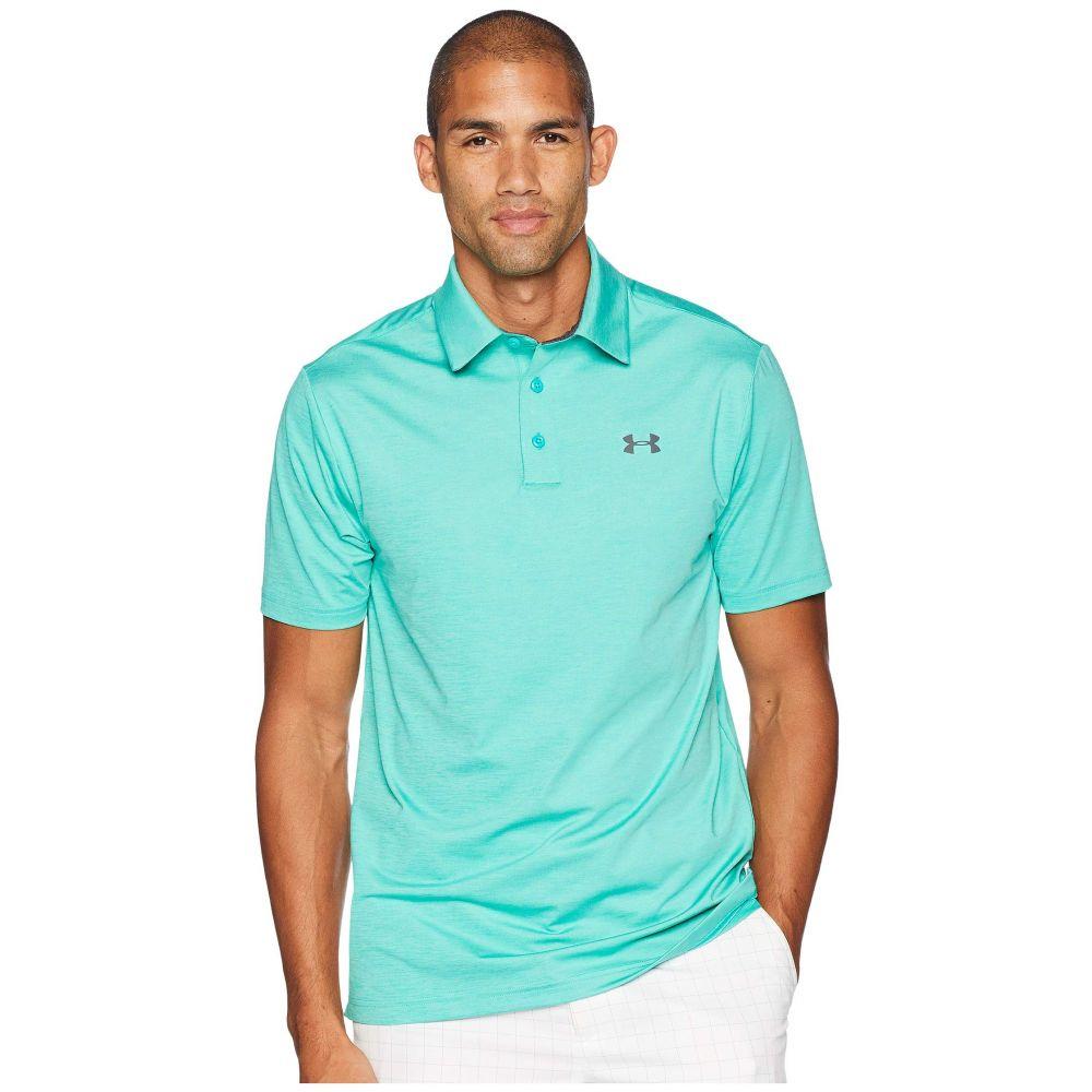 アンダーアーマー Under Armour Golf メンズ トップス ポロシャツ【UA Playoff Polo】Green Malachite/Rhino Gray/Rhino Gray