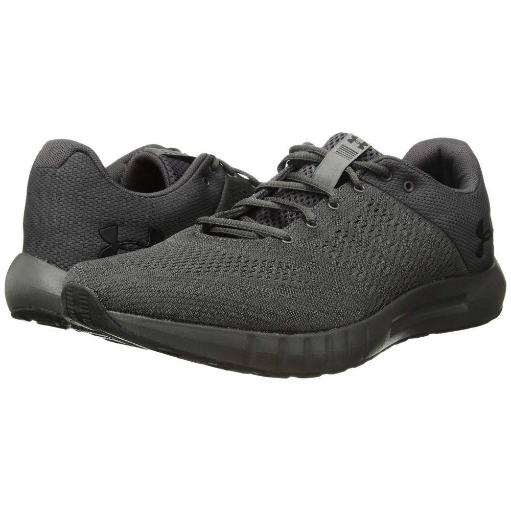 アンダーアーマー Under Armour メンズ ランニング・ウォーキング シューズ・靴【UA Micro G Pursuit】Charcoal/Charcoal/Black