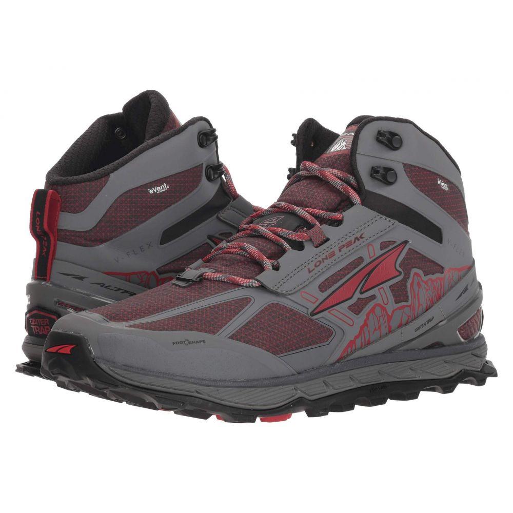 アルトラ Altra Footwear メンズ ランニング・ウォーキング シューズ・靴【Lone Peak 4 Mid RSM】Gray