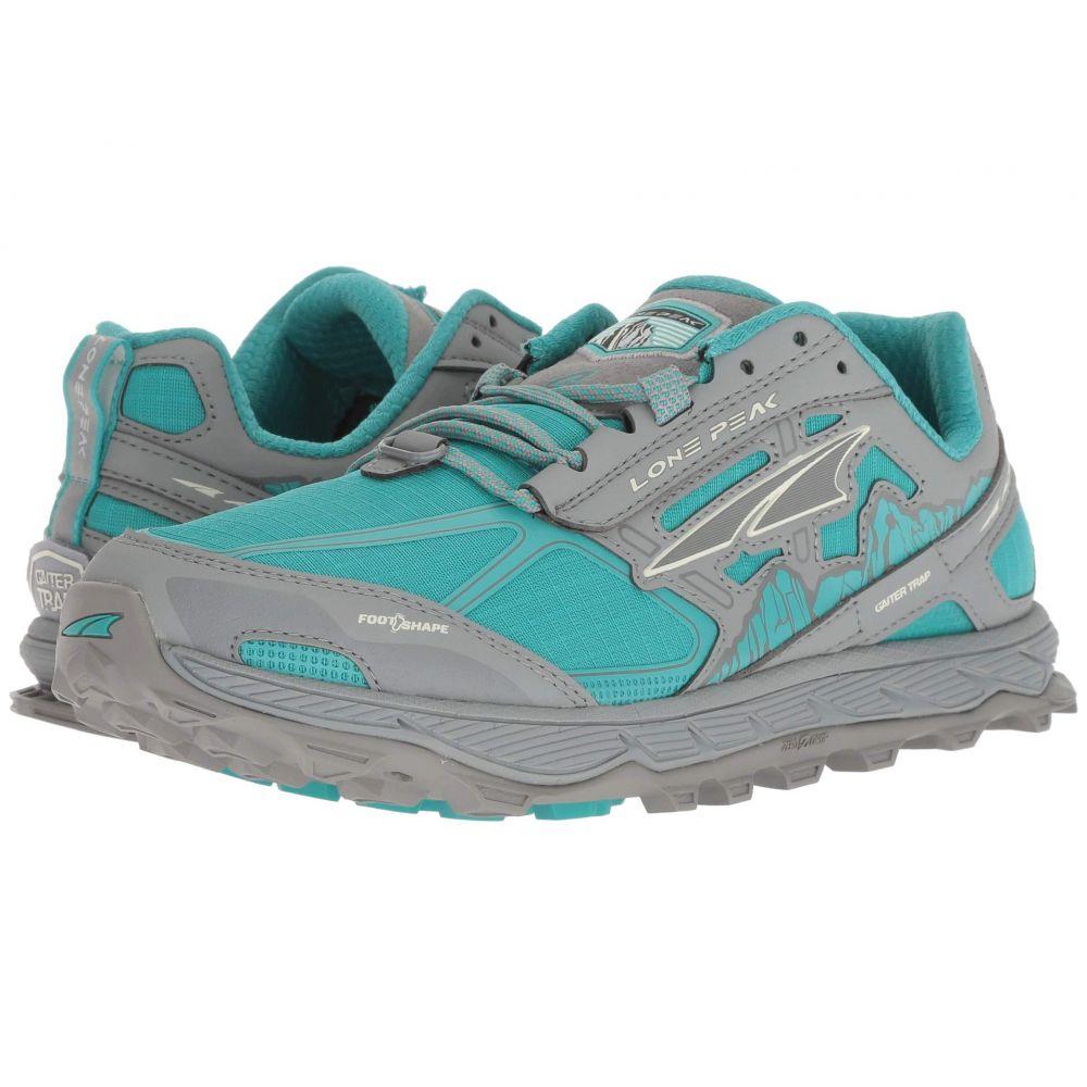アルトラ Altra Footwear レディース ランニング・ウォーキング シューズ・靴【Lone Peak 4】Teal/Gray