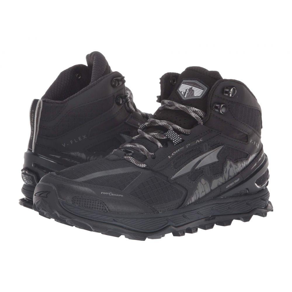 アルトラ Altra Footwear レディース ランニング・ウォーキング シューズ・靴【Lone Peak 4 Mid Mesh】Black