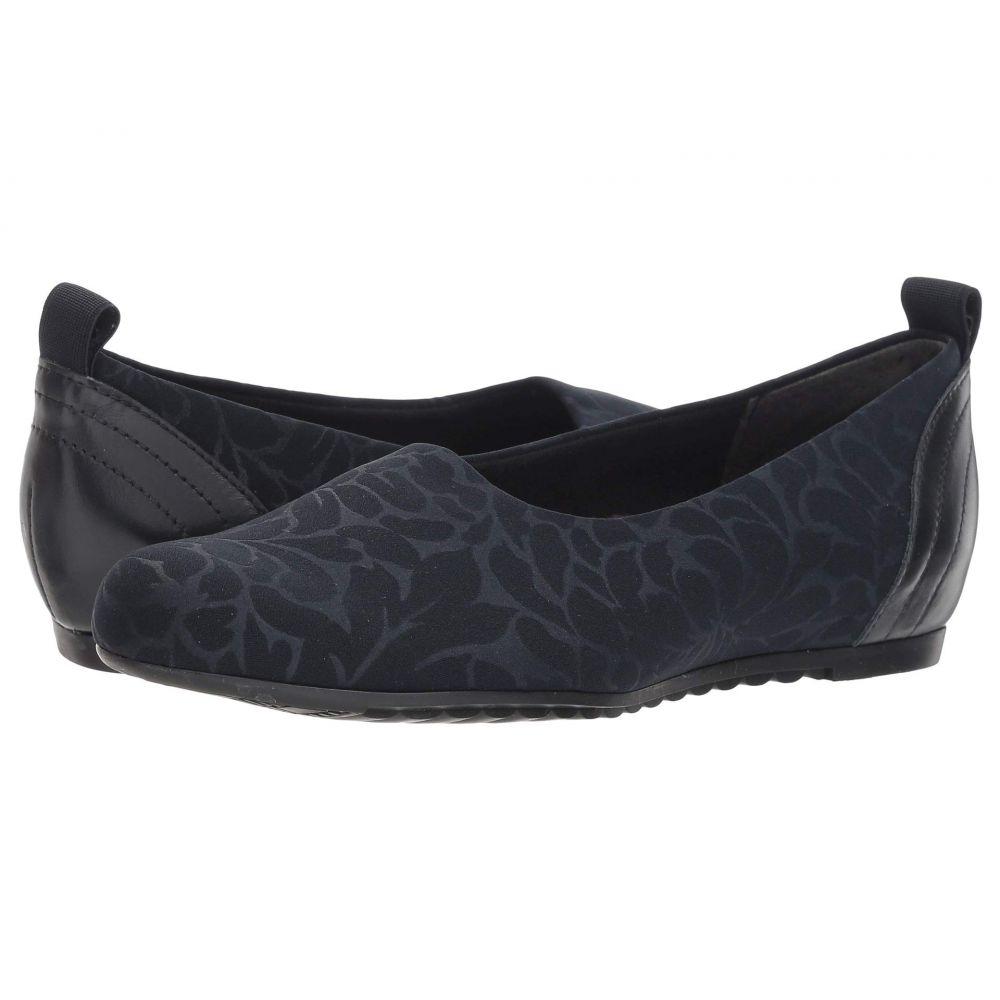 マンロー Munro レディース シューズ・靴 スリッポン・フラット【Iriana】Navy Stretch Fabric