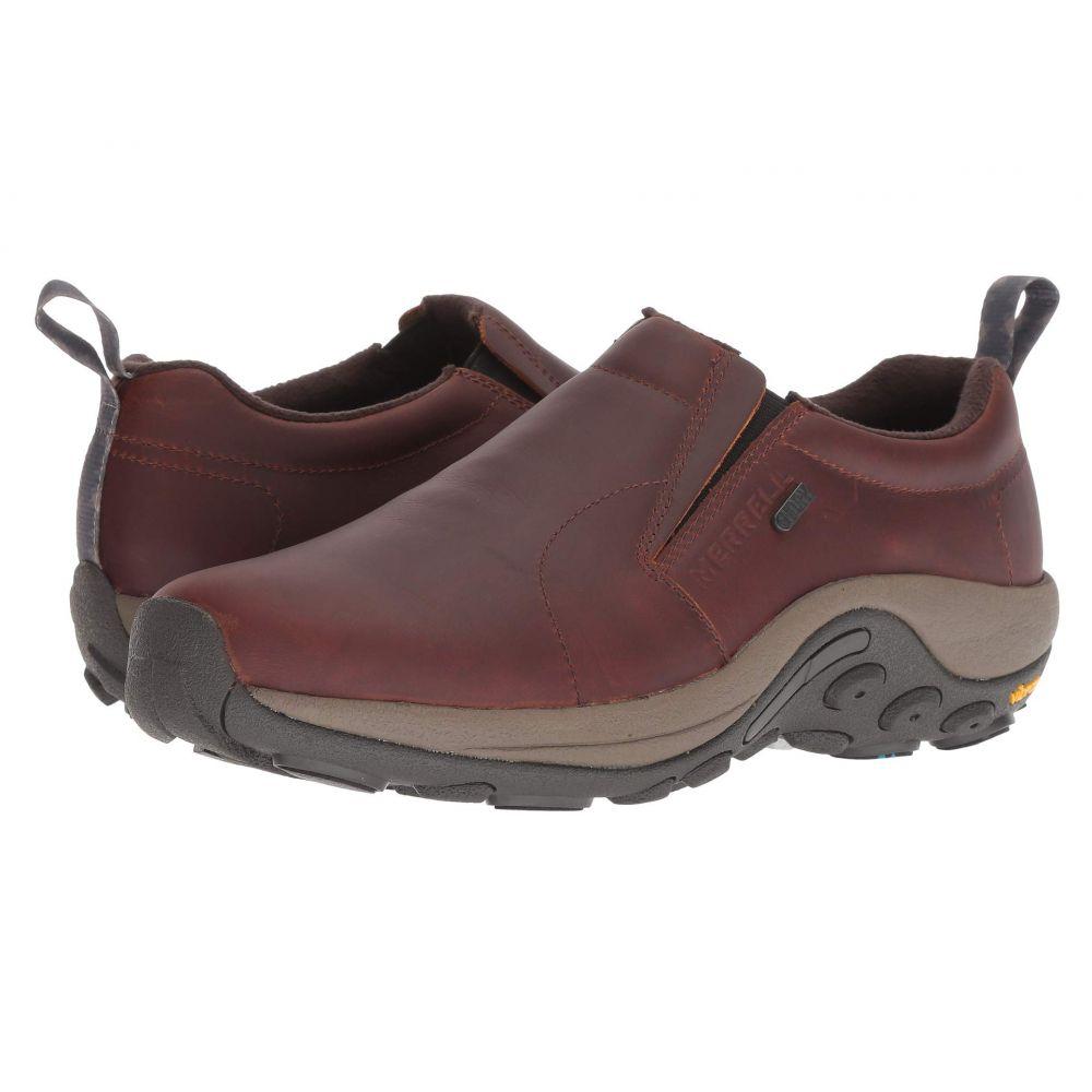 メレル Merrell メンズ ハイキング・登山 シューズ・靴【Jungle Moc Leather Waterproof Ice+】Merrell Oak