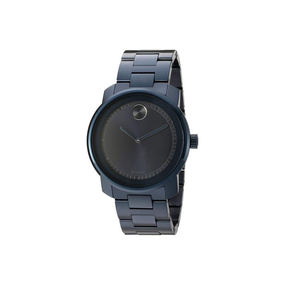モバード Movado レディース 腕時計【Bold - 3600296】Ionic Plated Blue Steel