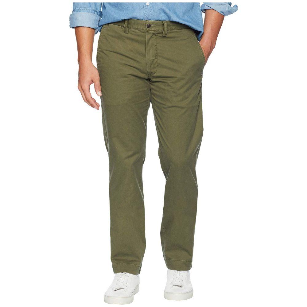 ラルフ ローレン Polo Ralph Lauren メンズ ボトムス・パンツ【Cotton Stretch Twill Bedford Flat Pants】Expedition Olive