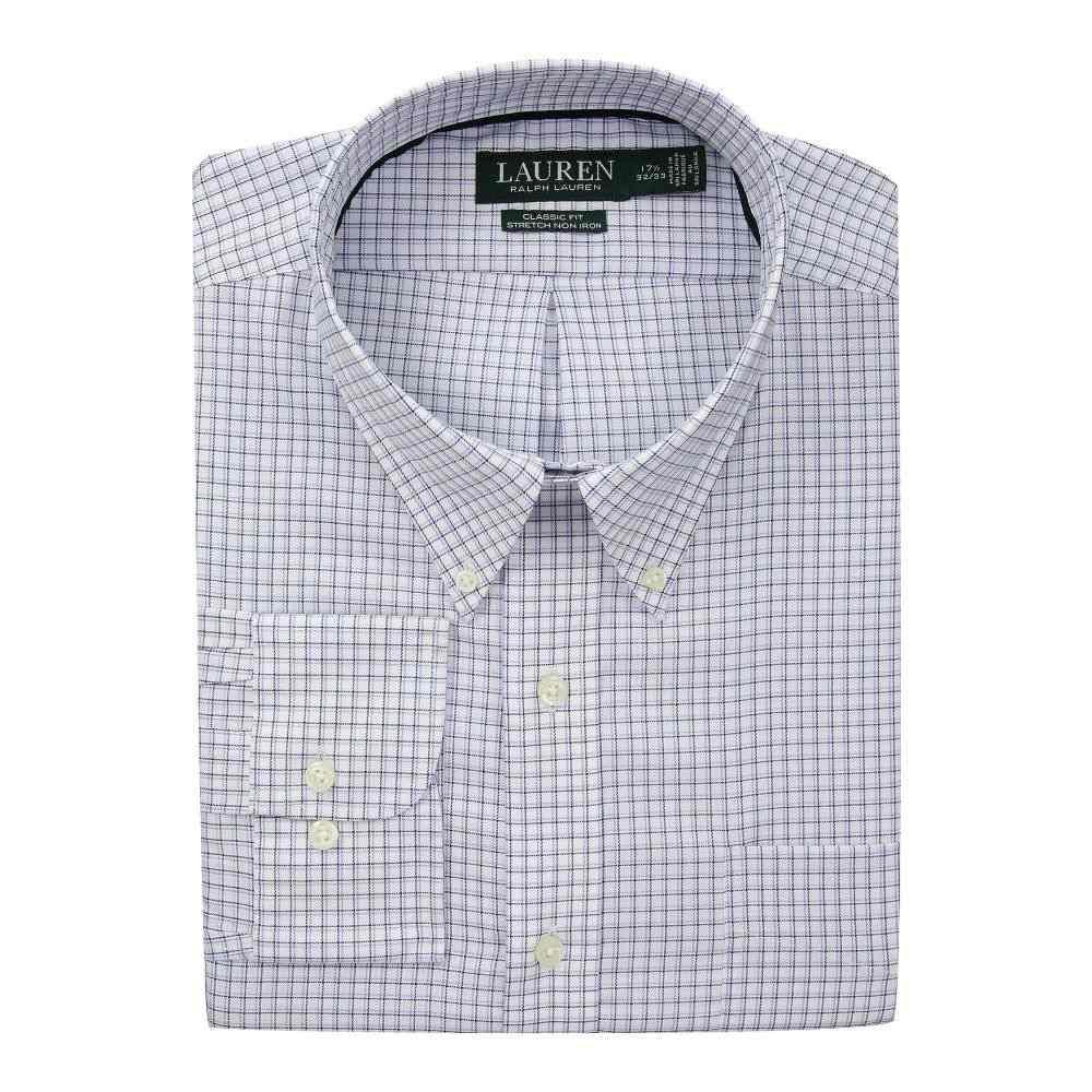 ラルフ ローレン LAUREN Ralph Lauren メンズ トップス シャツ【Classic No Iron Button Down with Pocket Dress Shirt】Sky Blue/White