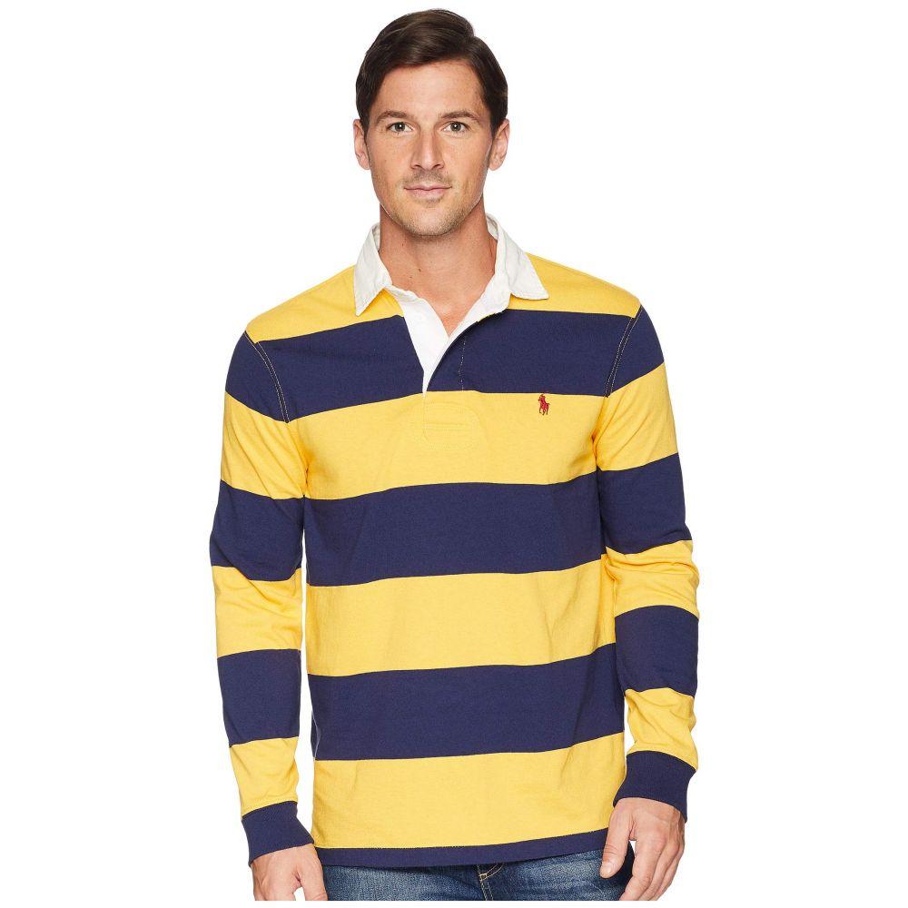 ★お求めやすく価格改定★ ラルフ Polo】Gold ローレン ラルフ Polo Navy Ralph Lauren メンズ トップス ポロシャツ【Rugby Polo】Gold Bugle/Newport Navy, USカジュアル:a4136748 --- portalitab2.dominiotemporario.com